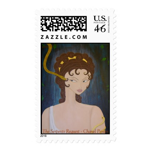 The Serpents Request Postage Stamp