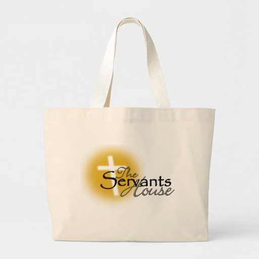 The Servants House Design Tote Bags
