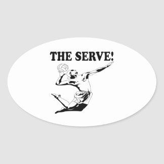 The Serve 2 Sticker