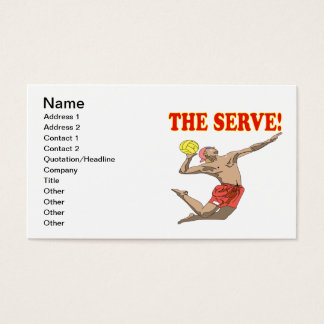The Serve 3 Business Card