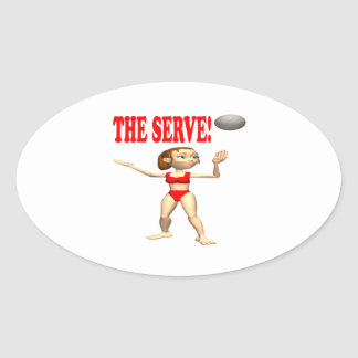 The Serve 4 Stickers