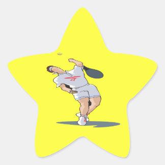 The Serve Star Sticker