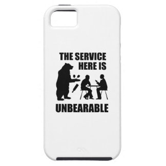 The Service Here Is Unbearable iPhone SE/5/5s Case