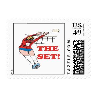 The Set Postage Stamp