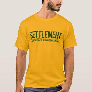 The Settlement -Christmas Island T-Shirt