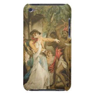 The Settling Family Attacked by Savages, engraved iPod Touch Cover