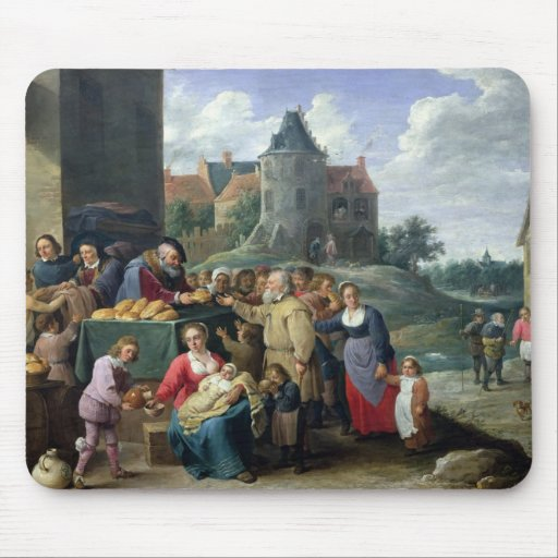 The Seven Acts of Mercy Mousepad