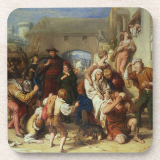 The Seven Ages of Man, 1835-8 (oil) Beverage Coaster