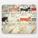 The seven celestial cows and the sacred bull mouse pad