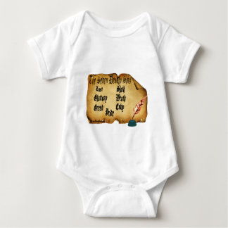 The Seven Deadly Sins Baby Bodysuit