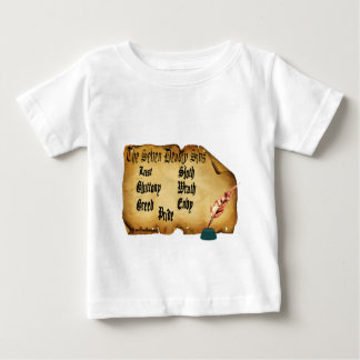 The Seven Deadly Sins Baby T-Shirt