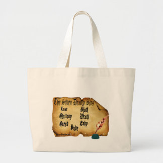 The Seven Deadly Sins Tote Bags