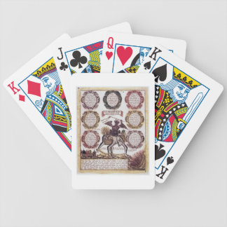 The Seven Deadly Sins (engraving) Bicycle Poker Deck