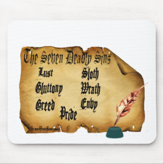 The Seven Deadly Sins Mouse Pads