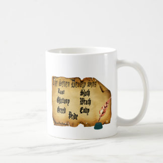 The Seven Deadly Sins Classic White Coffee Mug