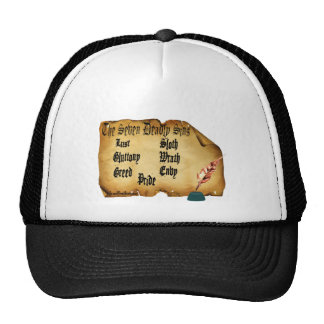 The Seven Deadly Sins Trucker Hat