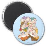 The Seven Dwarfs 2 Inch Round Magnet