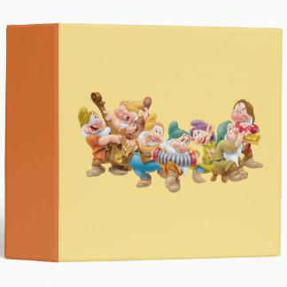 The Seven Dwarfs 3 Binder