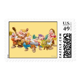 The Seven Dwarfs 3 Postage Stamp