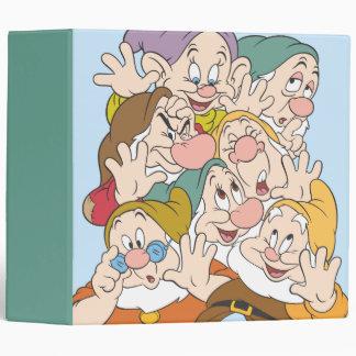The Seven Dwarfs 3 Ring Binder