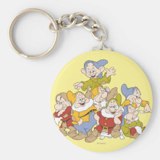 The Seven Dwarfs 4 Keychain