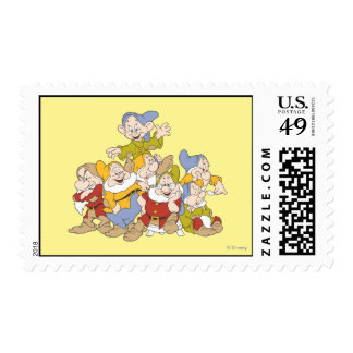 The Seven Dwarfs 4 Postage Stamp