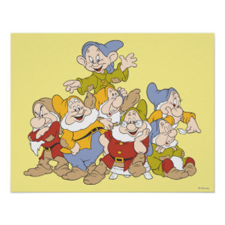 The Seven Dwarfs 4 Poster