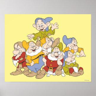 The Seven Dwarfs 4 Poster