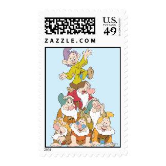 The Seven Dwarfs 5 Stamp