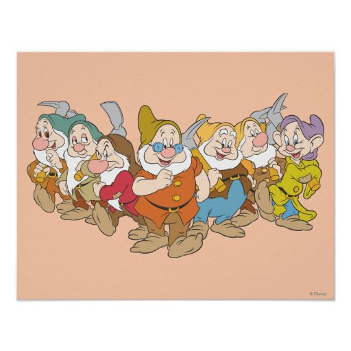 The Seven Dwarfs 6 Poster