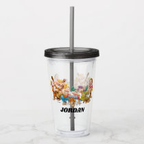 The Seven Dwarfs Group | Add Your Name Acrylic Tumbler