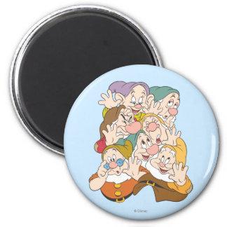 The Seven Dwarfs Refrigerator Magnets
