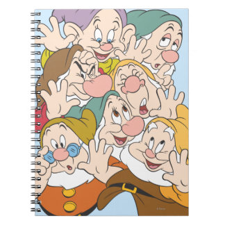 The Seven Dwarfs Spiral Note Book