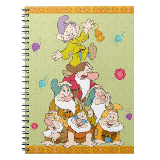 The Seven Dwarfs Pyramid Spiral Note Books