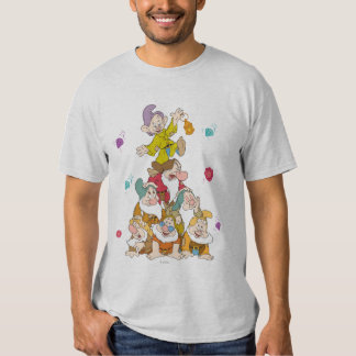 The Seven Dwarfs Pyramid T Shirt