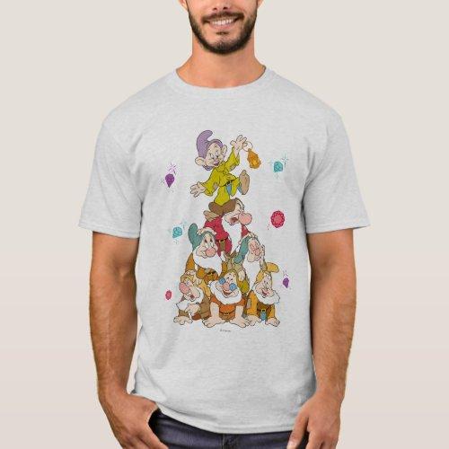 The Seven Dwarfs Pyramid T_Shirt