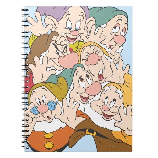 The Seven Dwarfs Spiral Notebook