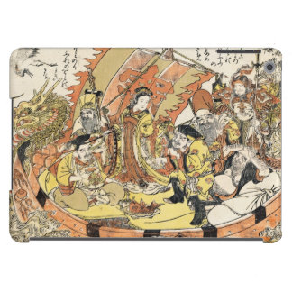 The Seven Gods Good Fortune in the Treasure Boat Cover For iPad Air