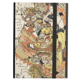 The Seven Gods Good Fortune in the Treasure Boat iPad Air Cover