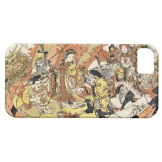 The Seven Gods Good Fortune in the Treasure Boat iPhone SE/5/5s Case