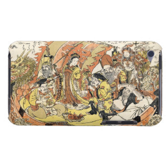 The Seven Gods Good Fortune in the Treasure Boat iPod Touch Case