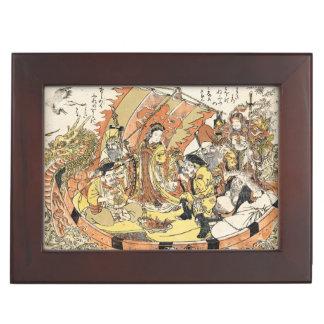 The Seven Gods Good Fortune in the Treasure Memory Box