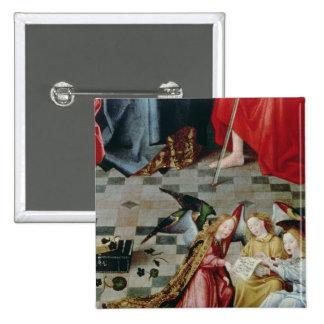 The Seven Joys of the Virgin Altarpiece Button