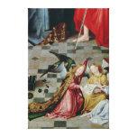 The Seven Joys of the Virgin Altarpiece Canvas Print