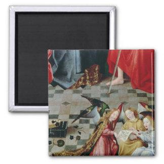 The Seven Joys of the Virgin Altarpiece Magnet