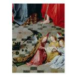 The Seven Joys of the Virgin Altarpiece Postcard