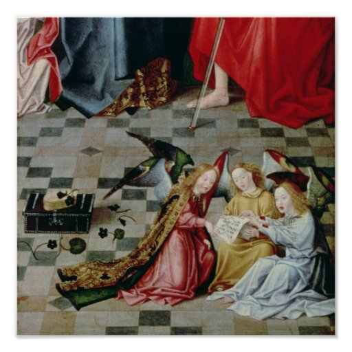 The Seven Joys of the Virgin Altarpiece Poster