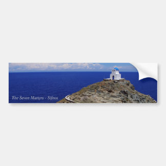 The Seven Martyrs – Sifnos Bumper Sticker