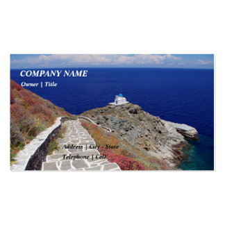 The Seven Martyrs – Sifnos Business Card