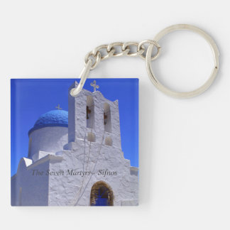 The Seven Martyrs – Sifnos Acrylic Key Chains